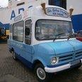 Van for ice cream