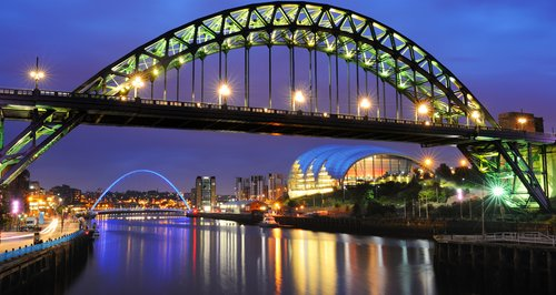 Newcastle happiest place in UK