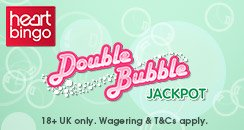 Double bubble_ Heart Bingo_244