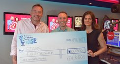 GMSN Cambridge Cheque Handover