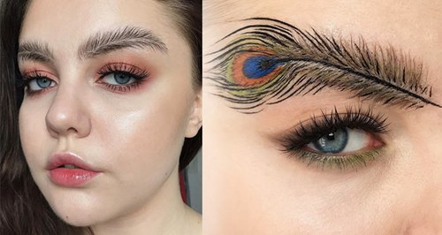 Wave Goodbye To The Tweezers As Feather Brows Are