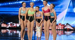 Britain's Got Talent Just Us Gymnast