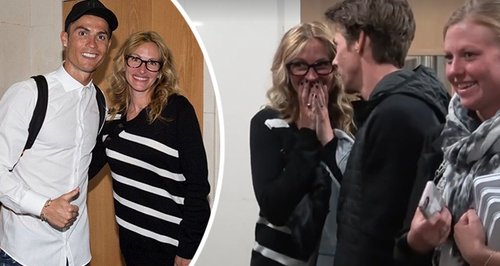 Watch Julia Roberts Totally Freak Out When She Met