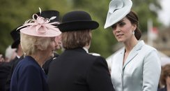 Kate Middleton at the Royal Garden Party