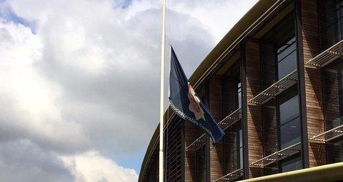 Police HQ flag