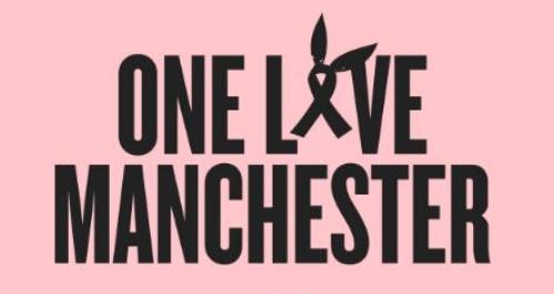 Ariana Grande One Love Manchester Flyer