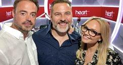 David Walliams With Jamie And Emma