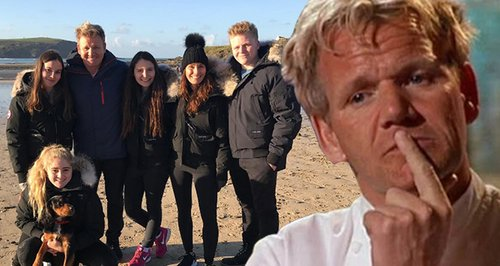 Gordon Ramsay Makes His Kids Fly Economy Whilst He
