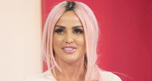 Katie Price pink hair