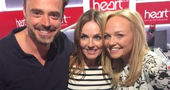 Geri Halliwell With Jamie And Emma