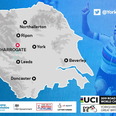UCI cycling map Yorkshire 2019