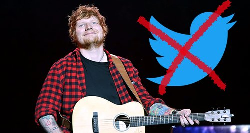 Ed Sheeran quits Twitter over online trolls