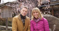 Chris Packham and Michaela Strachan Springwatch