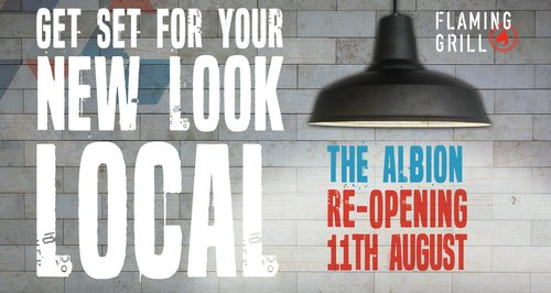 The Albion open now