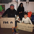 Homeless boy gives gift asset