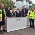 Winchester flood wall unveiled