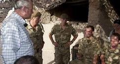 North Devon MP Nick Harvey in Afghanistan